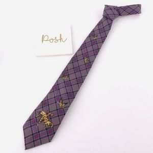 Vintage Polo Tie Duck Hunting Made by Hand EUC